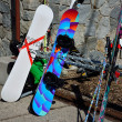 Snowboards — Stock Photo