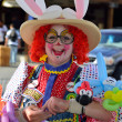 Stock Photo: Clown Downtown Old Sacramento