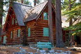 Old Rustic Cabin - Tallac Historic Site South Lake Tahoe — Stock Photo