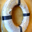 Old lifegaurd inner tube — Stock Photo #26217723