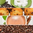 Foto de Stock  : Coffee Collage