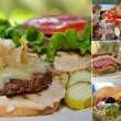 Foto de Stock  : Food Collage