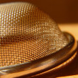 Strainer in shade — Stock Photo