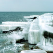 Icy coast — Stock Photo