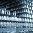 Stock Photo: Storehouse of glass jars