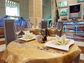 Interior of cafe — Stock Photo