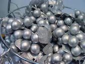 Metal grapes — Stock Photo
