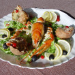 Stock Photo: Crayfish and shellfish