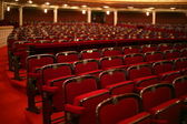 Classical theatre interior — Stock Photo