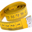 Stock Photo: Centimeter tape
