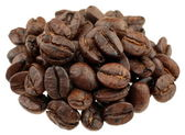 Coffe bean group — Stock Photo