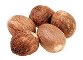 Nutmeg spice — Stock Photo