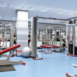 Sport room — Stock Photo