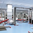 Sport room - Stock Photo