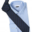 Necktie and shirt - Stock Photo