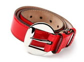 Red belt — Stock Photo