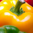 Stock Photo: Ripe three color pepper