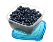 Blueberry in box — Stock Photo