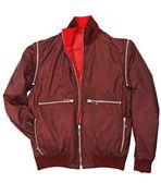 Man red jacket — Stock Photo