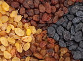 Raisin closeup background — Stock Photo