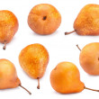 Brown pear set — Stock Photo