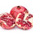 Pomegranate fruit open - Foto de Stock
