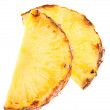 Pineapple fruit slice - Zdjcie stockowe