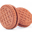 Stock Photo: Brown cookie