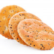 Cookie with poppy seed — Stock Photo #22535707