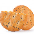 Cookie with poppy seed — Stock Photo #22536043