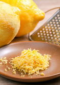 Lemon zest — Stock Photo