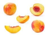 Nectarine peach — Stock Photo