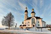 Cathedral at sunshine — Stock Photo
