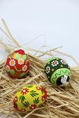 Color de los huevos de pascua — Foto de Stock