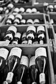 Wine B&W — Foto Stock