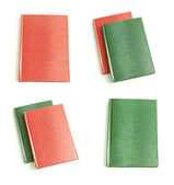 Leather notepads collection — Stock Photo