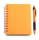 Orange stationery style — Foto Stock