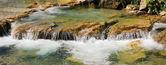 Mountain creek with cascades, upper bavaria — Stock Photo