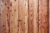 Background of rustical wooden pine planks — Stockfoto