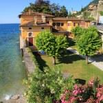 Gargnano town on Garda lake in Italy — Stock Photo #27919681