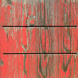 Stock Photo: Painted wooden background with exfoliated red color