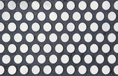 Perforated metal plate — Stock Photo