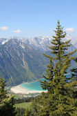 Lookout point to achensee, austrian alps — 图库照片