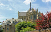 Medieval cathedral arundel, sussex — Stock Photo