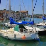 Inland port weymouth, dorset — Stock Photo #49744529