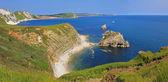 Unesco world heritage jurassic coast — Stock Photo