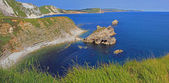 Beautiful jurassic coast — Stock Photo