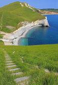 Range walks south west coast path — Stock Photo