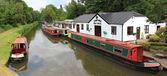 River walks godalming, tourist attraction surrey — Stock Photo