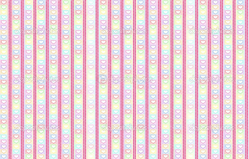 Telón De Fondo Rayas Con Pastel De Color Rosas Y